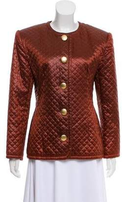 Givenchy Vintage Quilted Jacket