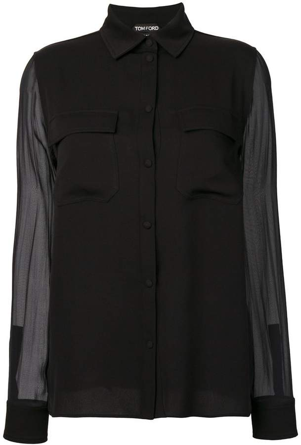 Tom Ford georgette shirt