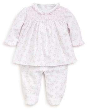 Kissy Kissy Baby's Bunches of Bows Print Swing Top Cotton Footie