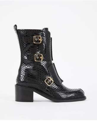 Stella McCartney Black Buckle Boots