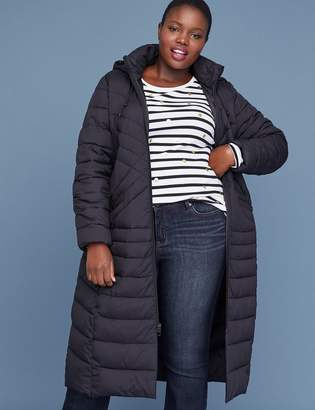 Lane Bryant Maxi Puffer Jacket - Black