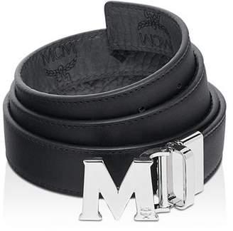 MCM Visetos Logo Reversible Belt