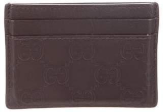 Gucci Guccissima Card Case