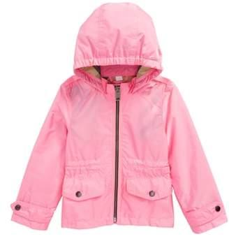 Burberry Mini Halle Waterproof Hooded Packaway Jacket