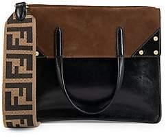 Fendi Women's Flip Leather Top-Handle Bag