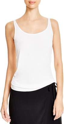 Eileen Fisher System Scoop Neck Long Silk Cami