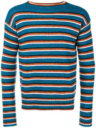 Prada crew neck striped sweater