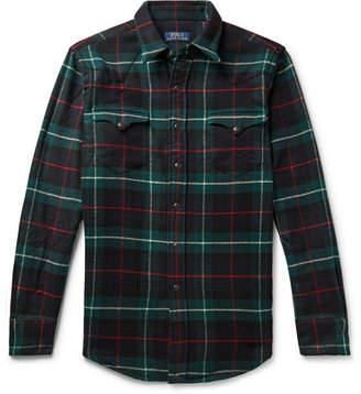 Polo Ralph Lauren Checked Wool-Flannel Overshirt