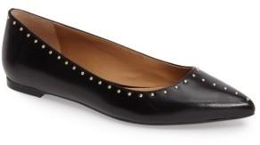 Women's Calvin Klein Genie Pointy Toe Flat $108.95 thestylecure.com