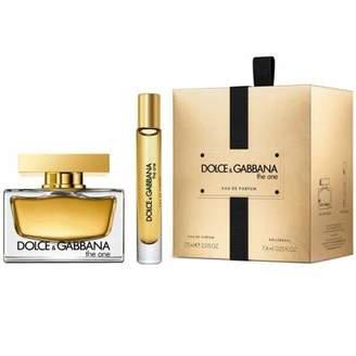 Dolce & Gabbana The One for Women 2 Piece Set Includes: 2.5 Oz Eau De Parfum Spray + 0.25 Oz Travel Spray