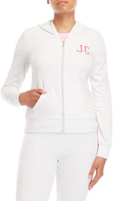 Juicy Couture Robertson Velour Zip Hoodie