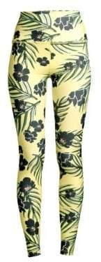 Beyond Yoga Women's Olympus High-Waist Floral Leggings - Floral Sunshine - Size XS