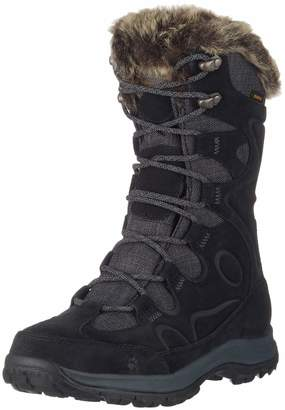 Jack Wolfskin Glacier Bay Texapore HIGH W Women's Waterproof -22°F Insulated Snow Casual Boot, 7.5 D US