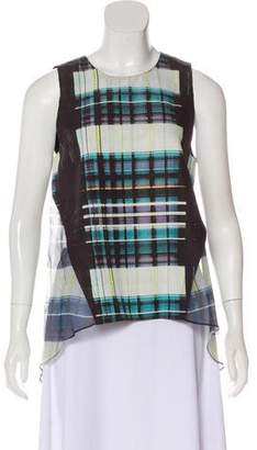 Marissa Webb Printed Sleeveless Top