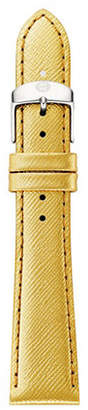 Michele Leather Watch Strap