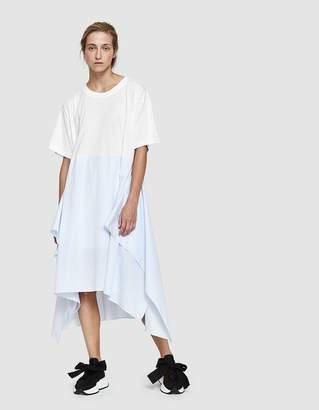 MM6 MAISON MARGIELA Basic Jersey Striped Dress