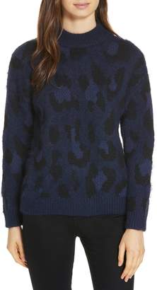 Kate Spade leopard pattern sweater