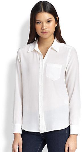 Equipment Brett Silk Shirt