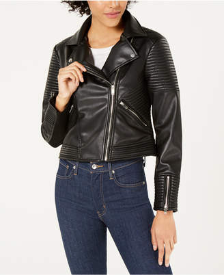 Bar III Quilted Moto Jacket