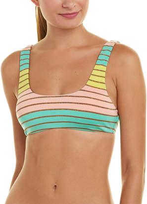 Trina Turk Lurex Stripe Bralette