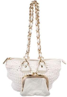 Dolce & Gabbana Mini Crochet Shoulder Bag