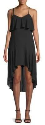 Ali & Jay Ruffled High-Low Popover Dress
