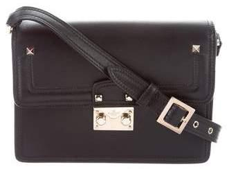 Valentino Lock Flap Shoulder Bag