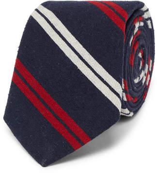 Polo Ralph Lauren 7cm Madison Striped Slub Silk Tie