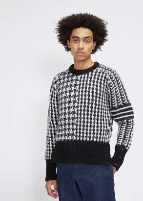 Thom Browne Chunky Crewneck Pullover