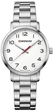 Wenger Women's Sport Swiss-Quartz Watch with Stainless-Steel Strap