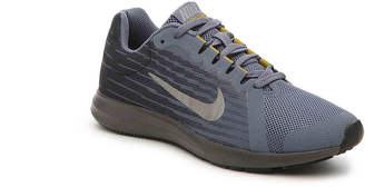 Nike Downshifter 8 Youth Running Shoe -Grey/Yellow - Boy's