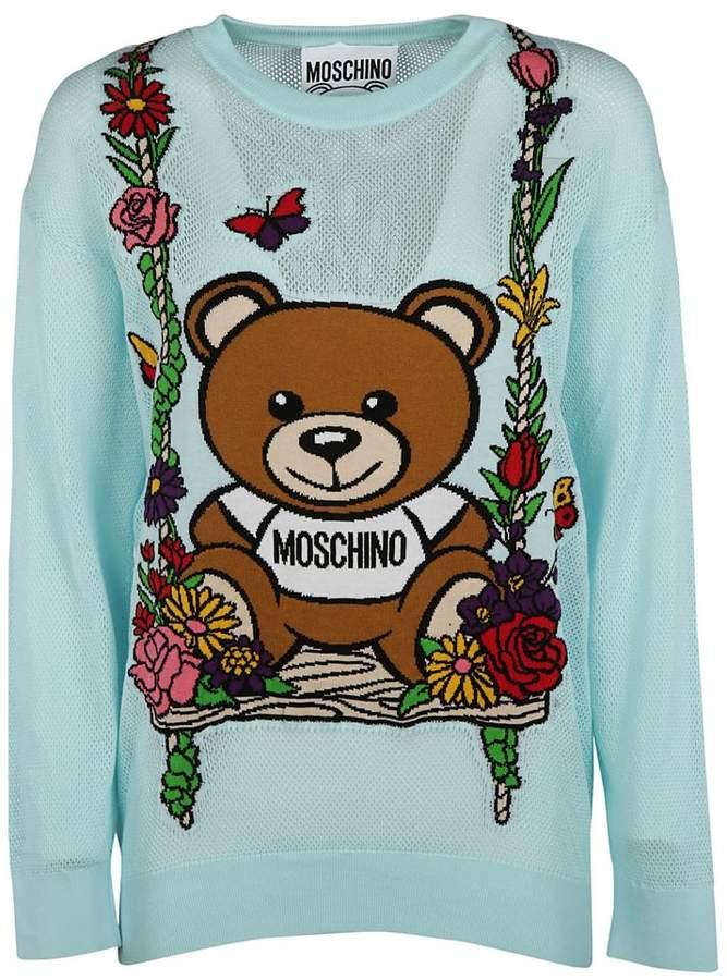 Bear Instarsia Sweatshirt