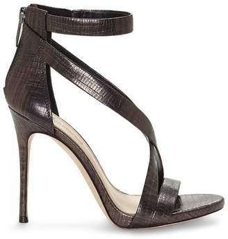 Vince Camuto Imagine Devin3 Embossed Crisscross-strap Sandal