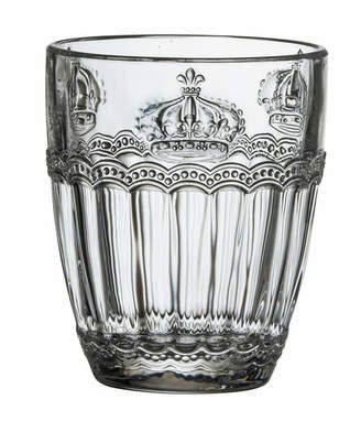 Global Amici Victoria Crown Old Fashioned Glass