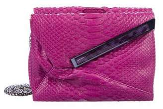 Kara Ross Snakeskin Mini Stella Bag