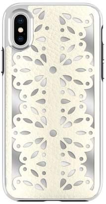 Rebecca Minkoff Luxury Calls Laser Lace iPhone X Case