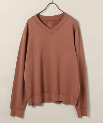 SAVE KHAKI UNITED (セーブ カーキ ユナイテッド) - Save Khaki United Sku Supima Fleece V-Neck Sweatshirt
