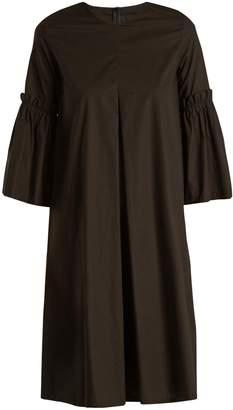 MM6 BY MAISON MARGIELA Flared-sleeve cotton-poplin dress $495 thestylecure.com