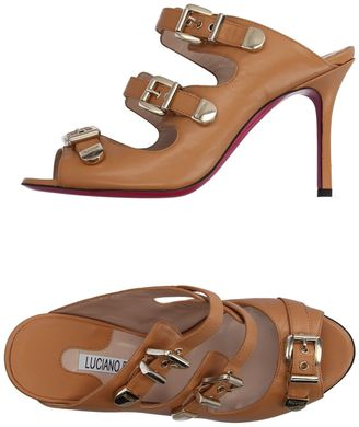 LUCIANO PADOVAN Sandals $353 thestylecure.com