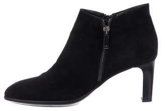 Aquatalia Suede Ankle Boots