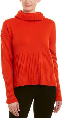 Derek Lam 10 Crosby Turtleneck Cashmere Sweater