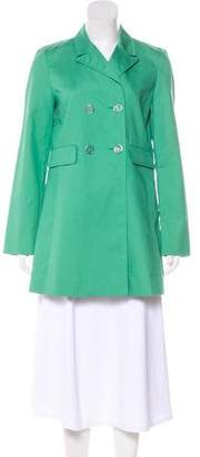 Tory Burch Double-Breasted Short Coat