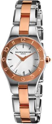 Baume & Mercier Baume Mercier Women's Linea Dial Two Tone Watch A10015