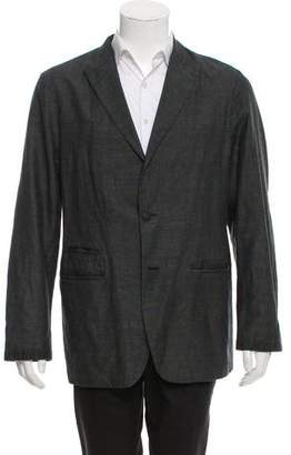 John Varvatos Deconstructed Peak-Lapel Blazer