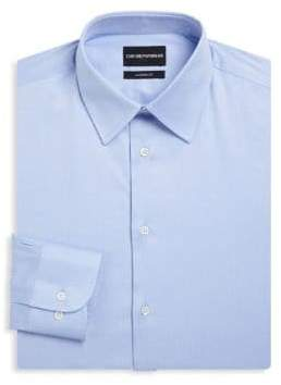 Emporio Armani Light Blue Modern Dress Shirt