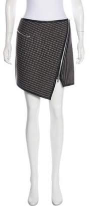 Jonathan Simkhai Asymmetric Mini Skirt