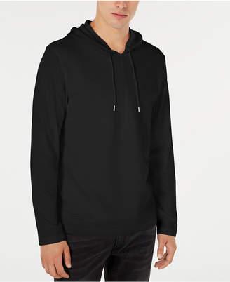 INC International Concepts Inc Men Textured Lightweight Hoodie