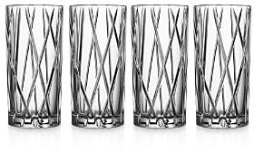 City Highball Glass, Set of 4