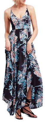 Free People Through The Vine Printed Maxi Dress