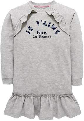 Very Frill Detail Sweater Dress